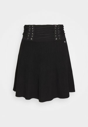KRIS SKIRT - Mini skirt - black