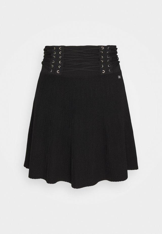 KRIS SKIRT - Minifalda - black