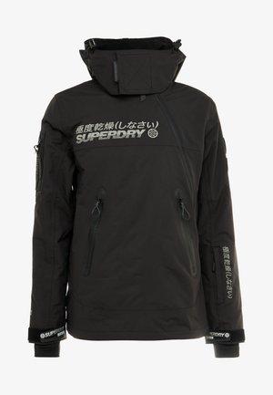 SNOW RESCUE OVERHEAD JACKET - Kurtka narciarska - onyx black
