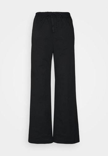GILLIAN TROUSER - Kalhoty - black
