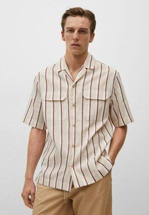 LAZO - Camicia - sandfarben