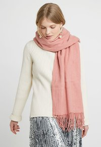 Pieces - Scarf - ash rose - 0