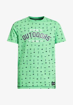 T-shirt print - all over print