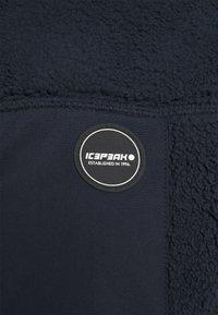 Icepeak - AMERY - Fleece jacket - dark blue - 2