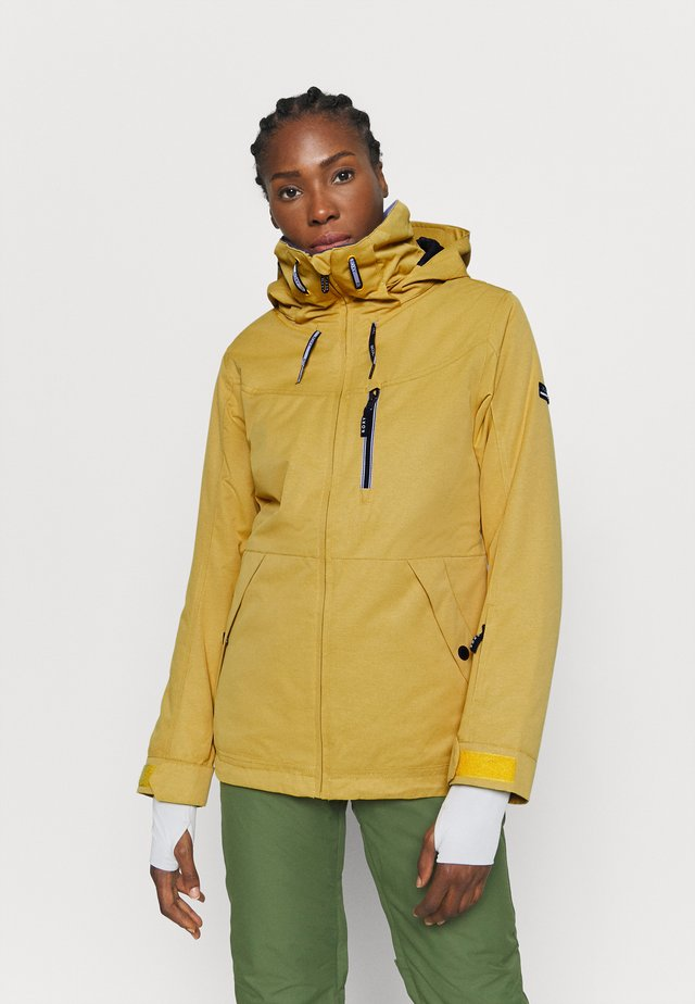 PRESENCE - Snowboard jacket - golden rod