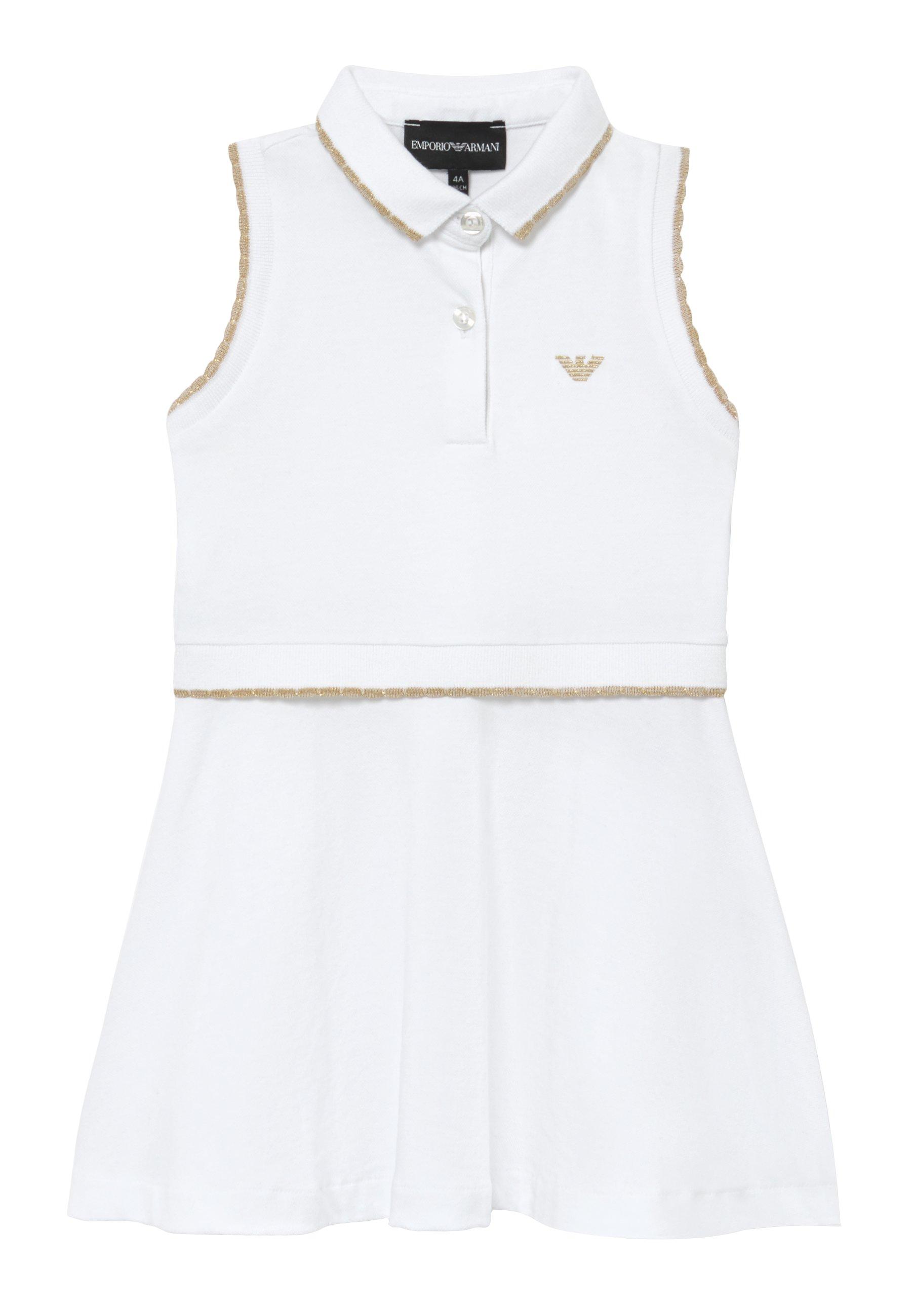 Emporio Armani Vestito - Vestido Informal Bianco Ottico