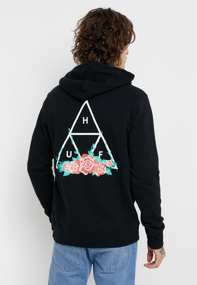 CITY ROSE  - Hoodie - black