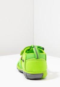 Keen - SEACAMP II CNX - Chodecké sandály - vibrant green - 4