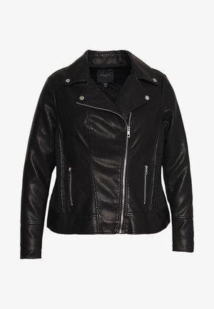 GLAM BIKER JACKET - Faux leather jacket - black