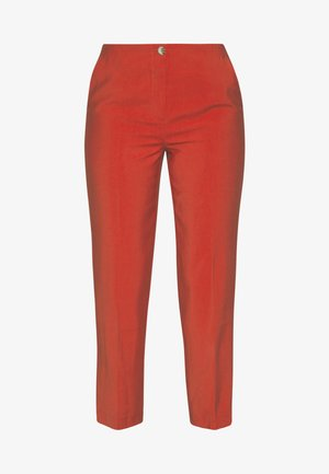 AURELIE PANTS - Trousers - burned orange