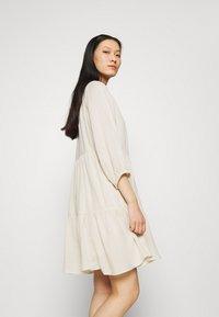 Selected Femme - SLFNAIDA SHORT DRESS - Day dress - sandshell - 3