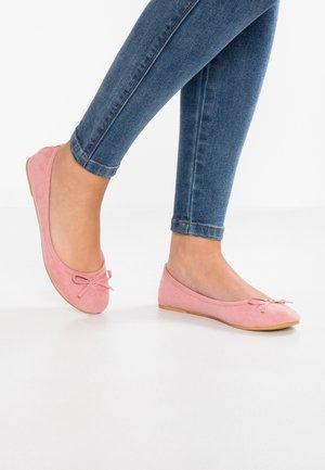 Ballet pumps - pink