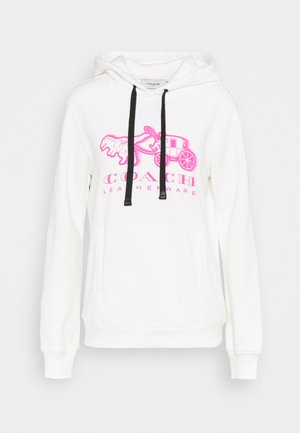 NEON HORSE AND CARRIAGE  - Sweatshirt - white