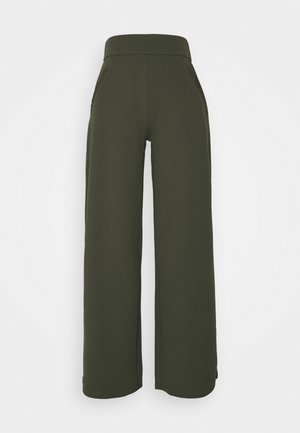 JDYLOUISVILLE CATIA WIDE PANT - Trousers - forest night