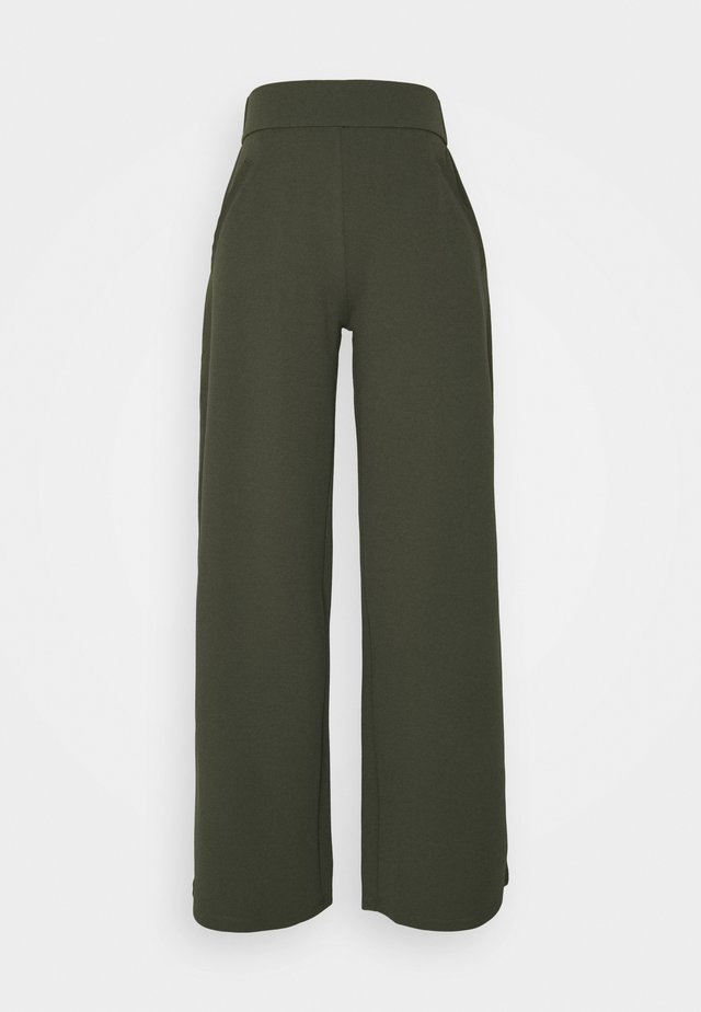 JDYLOUISVILLE CATIA WIDE PANT - Bukse - forest night