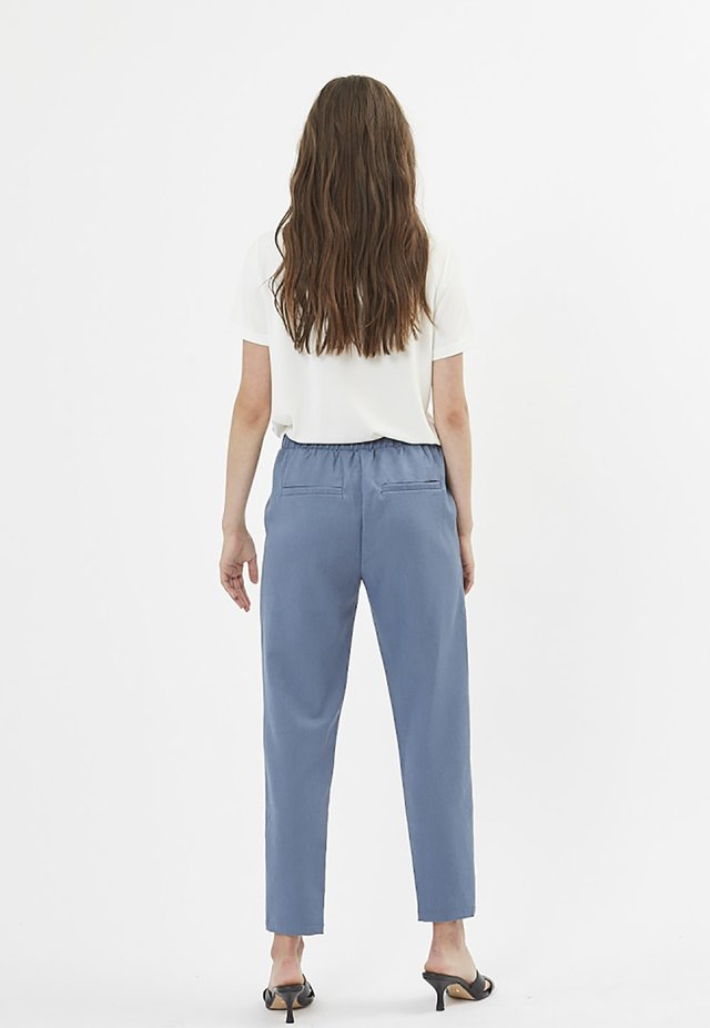 Trousers - china blue