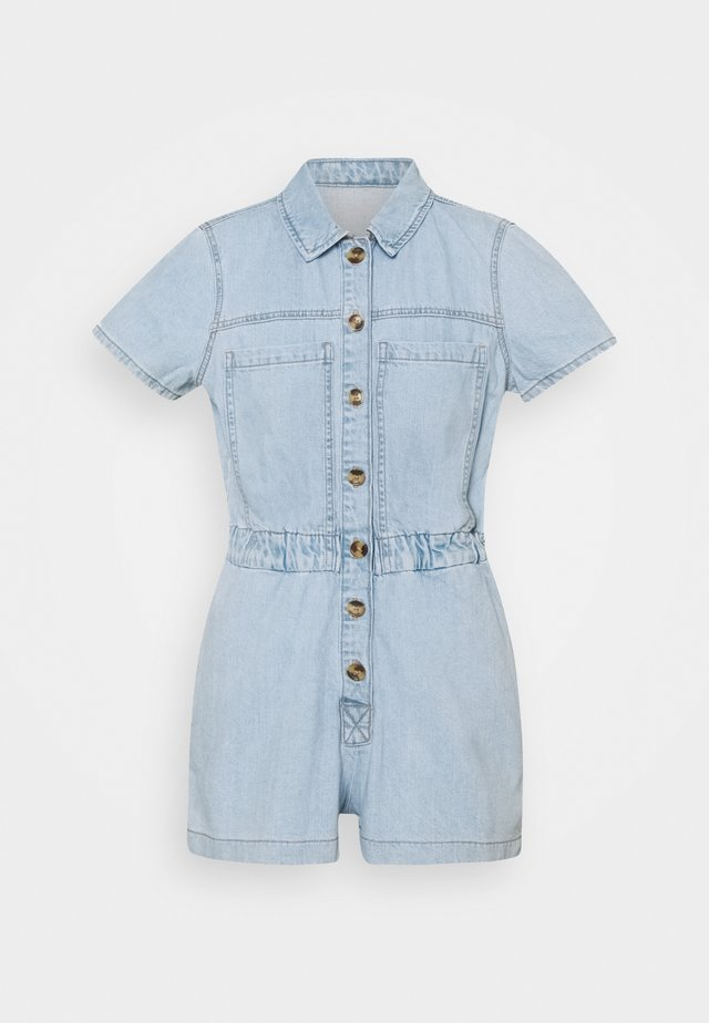 ONLSCARLETT LIFE - Jumpsuit - light blue denim