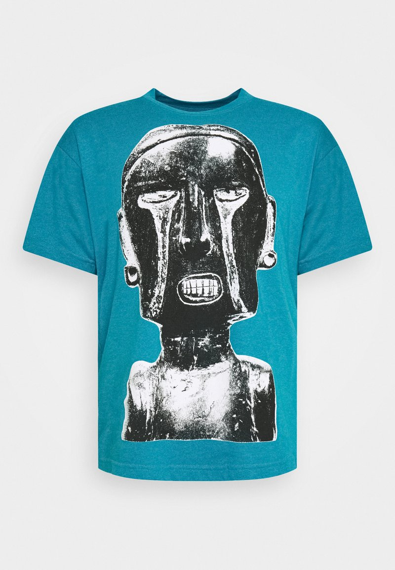 Obey Clothing - EARTH CRISIS - Print T-shirt - turquoise