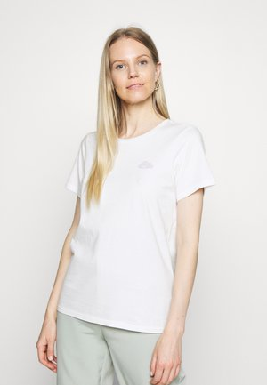 SHORT SLEEVE FRONT PRINT - Camiseta estampada - scandinavian white