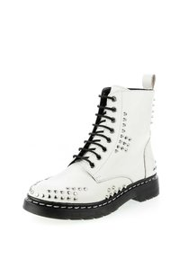 PRIMA MODA - MALITONO - Lace-up ankle boots - white - 1