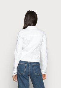 ONLY - ONLTIA JACKET - Giacca di jeans - white - 2