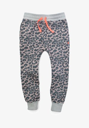 Tracksuit bottoms - pink leo
