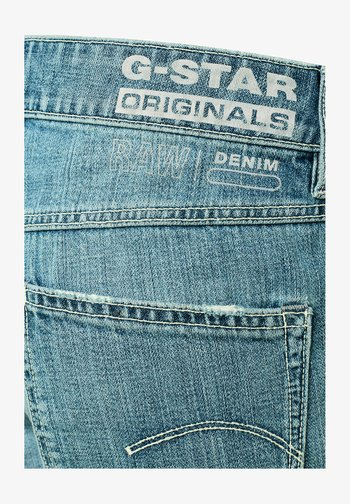 KATE BOYFRIEND - Straight leg jeans - faded tide