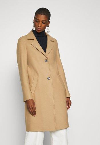 langarm - Klasyczny płaszcz - beige