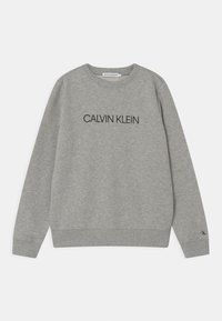 Calvin Klein Jeans - INSTITUTIONAL LOGO UNISEX - Sweatshirt - grey - 0