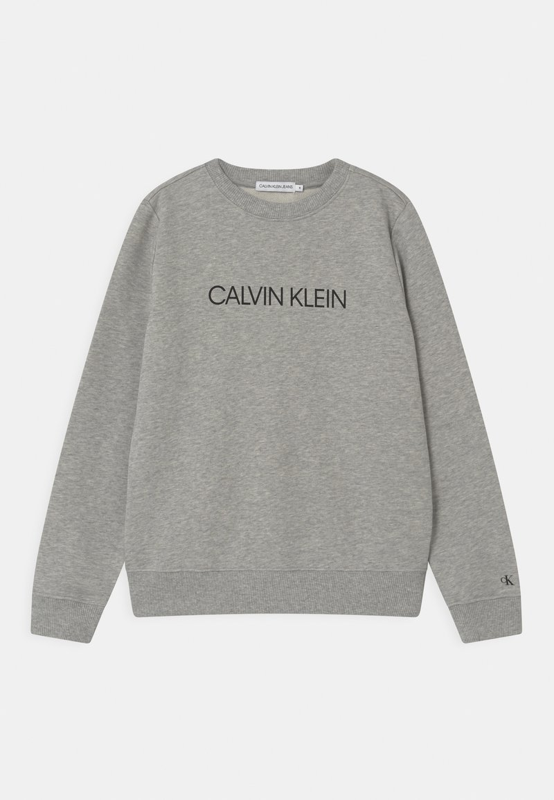 Calvin Klein Jeans - INSTITUTIONAL LOGO UNISEX - Sweatshirt - grey