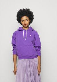 Polo Ralph Lauren - LONG SLEEVE - Felpa con cappuccio - spring violet - 0
