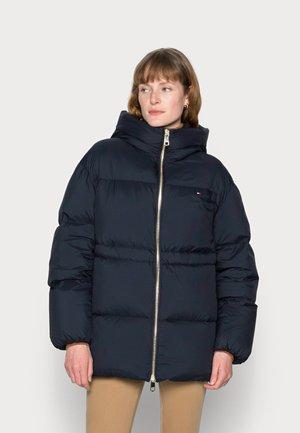 DOWN PUFFER COAT - Down coat - blue