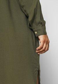 Zizzi - KNEE DRESS - Day dress - ivy green - 4