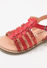 Friboo - LEATHER - Sandály - red - 2
