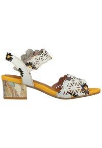 LAURA VITA - Sandals - blanc - 5