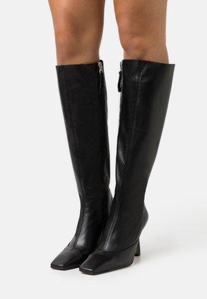 ADDRESS KNEE BOOT - Boots - black