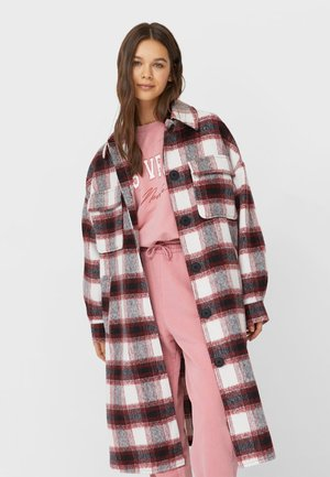 MIT KAROMUSTER - Classic coat - red