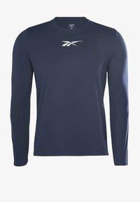 Reebok - ACTIVCHILL DREAMBLEND - Sports shirt - blue - 5