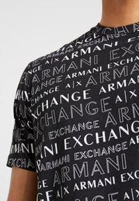Armani Exchange - Print T-shirt - black - 4