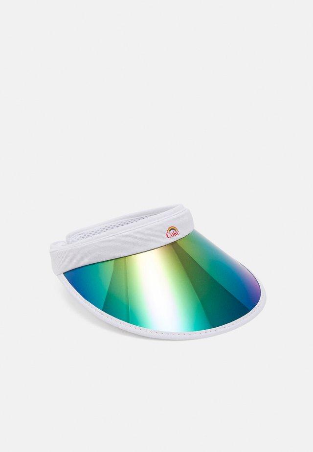 COCA COLA PRIDE VISOR UNISEX - Cap - white/lilac