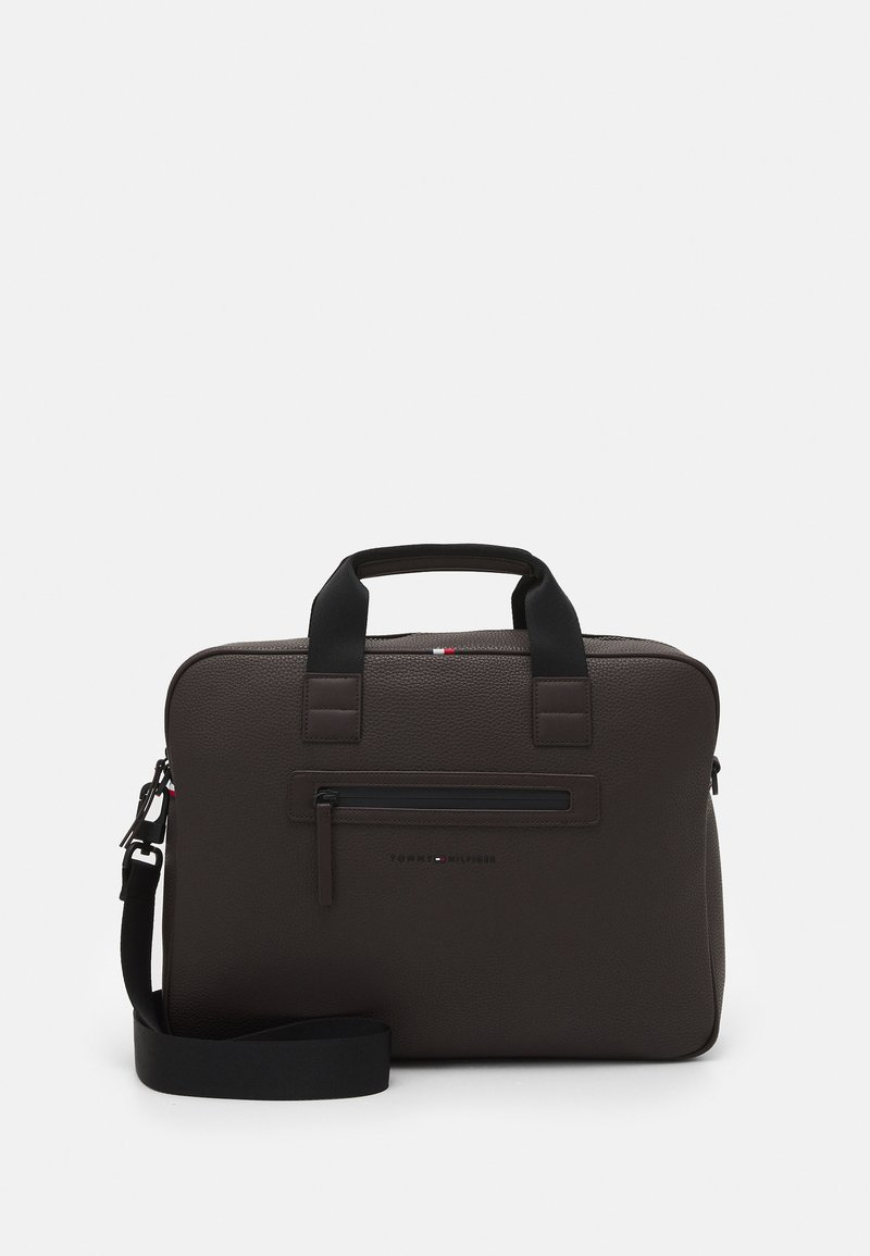 Tommy Hilfiger - ESSENTIAL COMPUTER BAG UNISEX - Laptop bag - brown