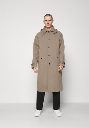 WINDSOR COAT SET - Waistcoat - grey taupe