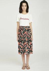 NAF NAF - A-line skirt - black - 1