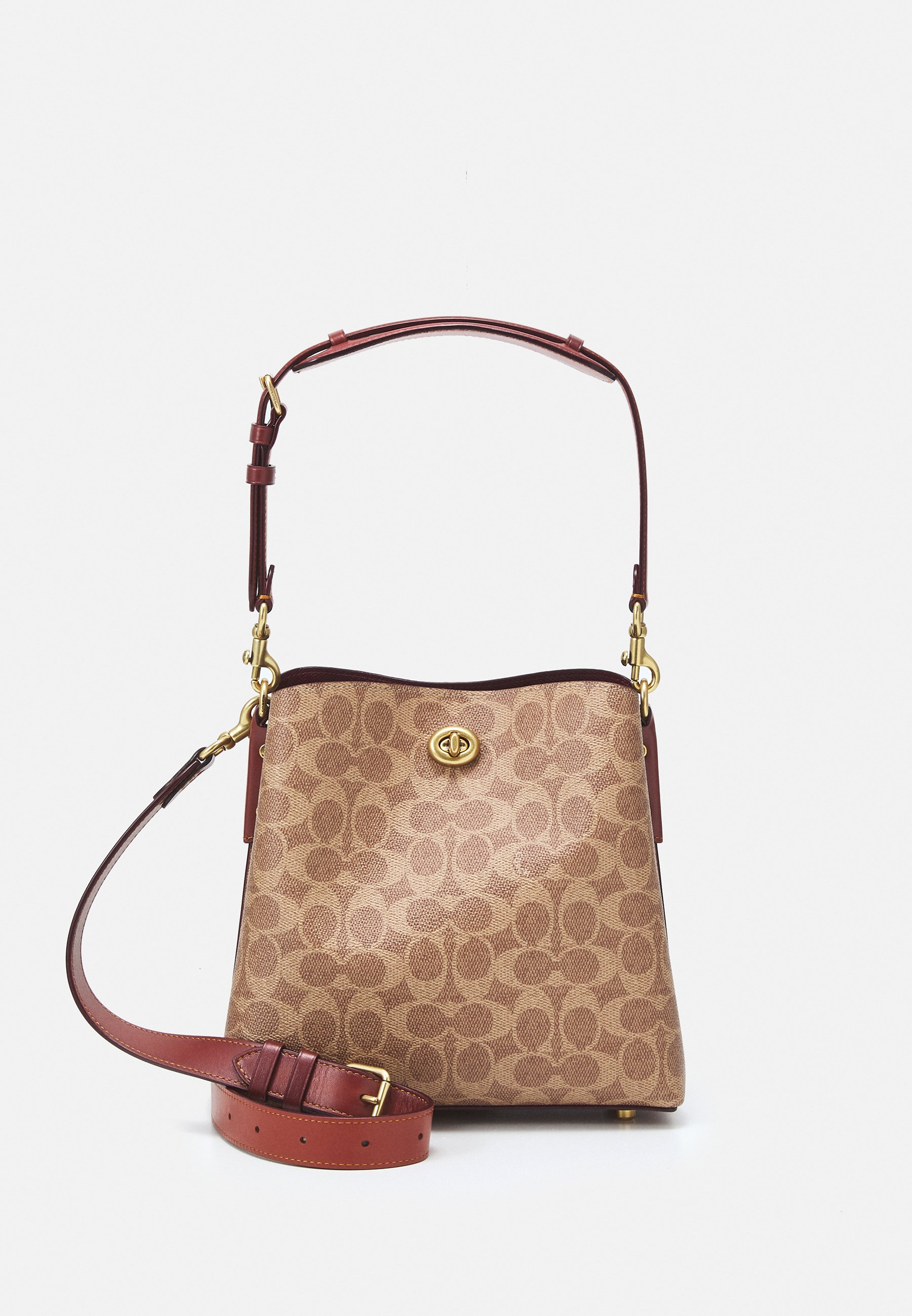 Women POLISHED WILLOW BUCKET BAG - Handbag