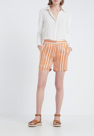 LIGNES BAJA  - Shorts - burnt copper artwork