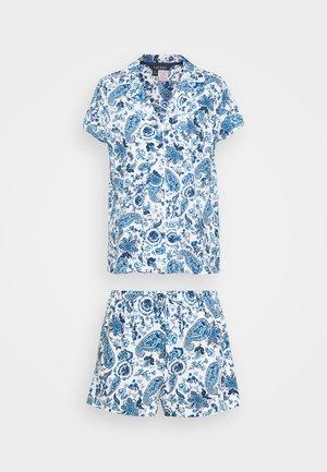 BOXER  - Pyjamas - blue/white