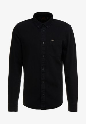 BUTTON DOWN - Hemd - black