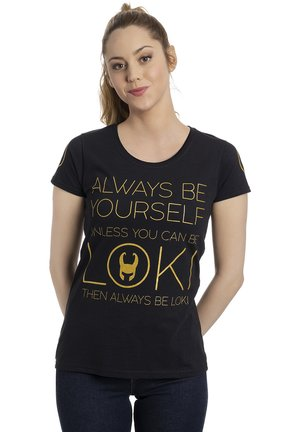 MARVEL LOKI  - Print T-shirt - schwarz