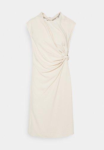 PLUME - Shift dress - angora