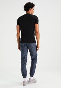 G-Star - BASE 2 PACK - T-shirt - bas - black - 2